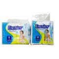 Fábrica de Encaier de venta caliente en Ghana Baby baratos de alta absorción de calidad Nappines desechables / pañales de bebé