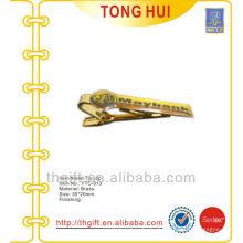 Gravata impressa em serigrafia personalizada gravata em metal