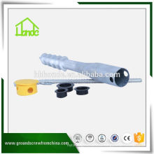 Foundation Construction Adjustable Ground Screw Anchor
