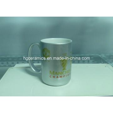 15oz Gold, Silver Sublimation Mugs. 15oz Sublimation Mug