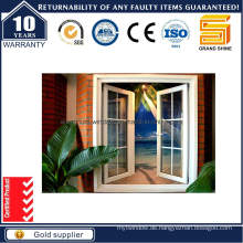 Economy Powder Coating Grau Aluminium Casement Fenster