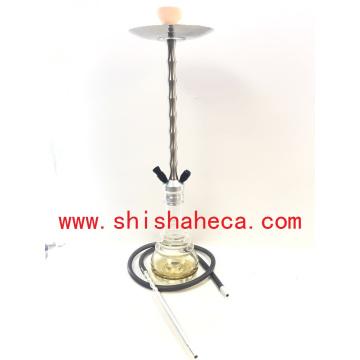 Narguilé en gros moderne en aluminium Narguilé Pipe Shisha Narguilé
