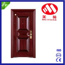 Porte extérieure en acier ignifuge de porte avec la qualité, certificat de ccc