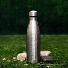 Tasse à vide adaptée aux besoins du client d'acier inoxydable de 500ml