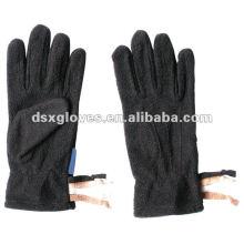 Черная теплая зимняя перчатка