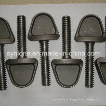 Parafusos de aço de Customed com fazer à máquina do CNC