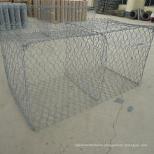 High quaity galvanized hexagonal gabion box price/ Gabion folding basket for sale