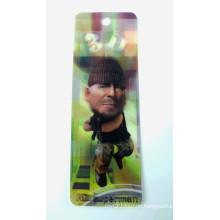 2015 Promotional Plastic Bookmarks for Souvenier