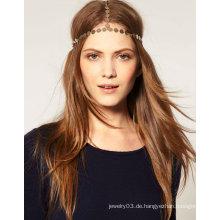 Großhandel charmante Metall Stirnbänder Haar Zubehör für Frau HR07