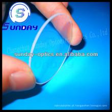 Janela de vidro de safira redonda de 25.4mm