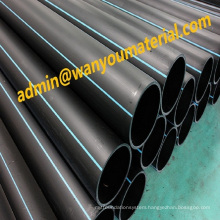 HDPE--Hot Sale PE&PVC Straight Pipe