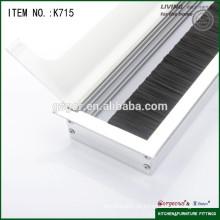 Tampão de extremidade de fio elétrico / caixa de saída de tampa de fio quadrado
