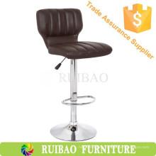 Huzhou Bar Möbel billig Friseur Stuhl Moderne PU Bar Hocker