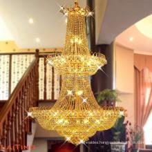 Large modern home decor crystal chandelier light for hotels 6089
