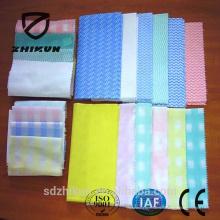 Faire à la commande tissu de tissu non tissé spunlace