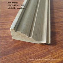 Moulure de corniche de plafond en bois de teck Recon moulures couronnées moulure de plafond décoratif en bois