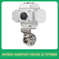 Sanitary Electric Butterfly Valves Clamp 3A/SMS/ISO/DS