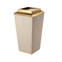 Cone en acier inoxydable Lobby Use Dust Bin (YW0055)