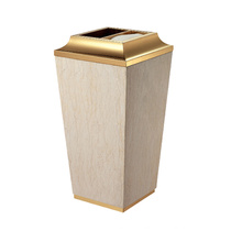 Cone Stainless Steel Lobby Use Dust Bin (YW0055)