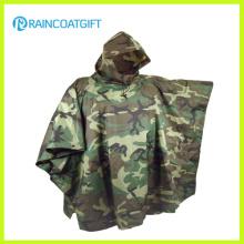 Poncho de camuflaje militar, poncho de ejército Poncho de impermeable