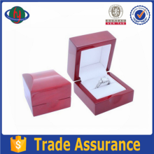 Luxurious High Glossy Small Wooden Box For Jewelry Ring