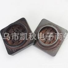 Moulin à fumée carré en bois de haute qualité