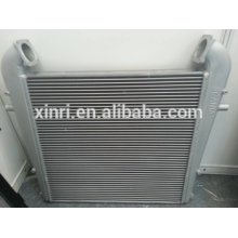 Aluminum core turbo intercooler for SCANIA intercooler 1100086 NISSENS: 96912