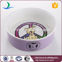 NEW Cartoon Pet feeding Ceramic Products of Pet bowl