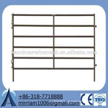 Paneles de corral galvanizado de inmersión caliente de alta calidad, puerta de la cerca de granja de ganado de ganado para el ganado, la casa o las ovejas