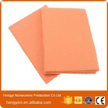 Productos de limpieza viscosos de la tela no tejida, productos de limpieza de uso múltiple