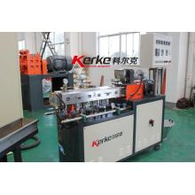 Lab equipment twin screw plastic extruder machine