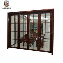 foshan factory aluminum exterior bifold door