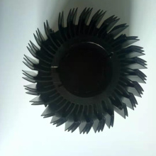 Extrusion CNC Machining Sun Flower LED Heat sink