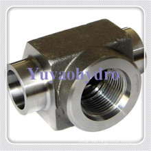 Weld Pipe Tee Fittings of Bsp Female Thread
