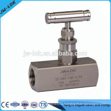 Contemporary Designed Tube Compression Fittings gas/oil Needle Valve