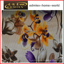 100% Polyester Knitted Fabric Printing Velvet Curtain Fabric (EDM0426)