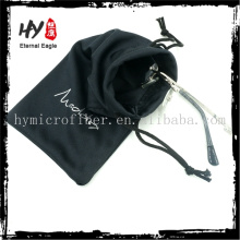 china supplier jewelry pouch velvet with logo,soft glasses case cloth,cloth bag with strap
