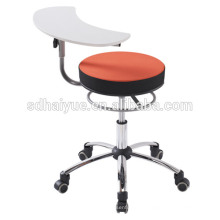 Modern Comfortable Fabric Wheel Chair With Writing Pad For School Students,HY3005