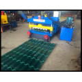 Schnelle Geschwindigkeits-Dach glasierte Fliesen-Blatt-Rollformmaschine Neues Produkt