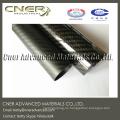 Tubo de fibra de carbono de tejido 3K, tubo de carbono de espesor de pared de 2,5 mm hecho en China, polo de fibra de carbono