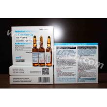 Pérdida de peso corporal adelgazar 500mg / 1g / 2g L-carnitina inyectable