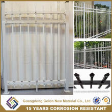 Wrought Iron Garden Fence Panel