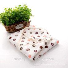 China supplier baby towel organic cotton ideal for newborns and infants and toddlers high quality towel baby