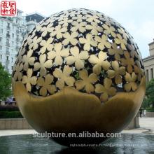 2016 Nouvelle sculpture moderne Statue urbaine de mode de haute qualité Cas de réussite pour jardin / extérieur