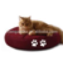Antiquité animal domestique chat sommeil rond coussin gibier chats lit