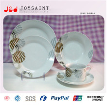 Hot Sell Stamp Christmas Style Dinner Plate
