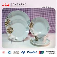 Plato de cena caliente del estilo de la Navidad del sello de la venta
