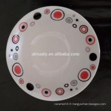 Bols de vaisselle en céramique