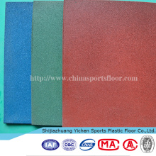 Functional Gym Flooring EPDM Interlocking Floor Tiles