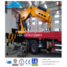 Hydraulic Knuckle Boom Truck Mounted Crane